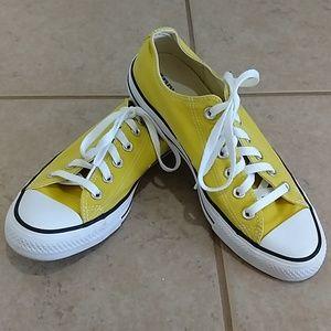 Women Yellow Converse 9